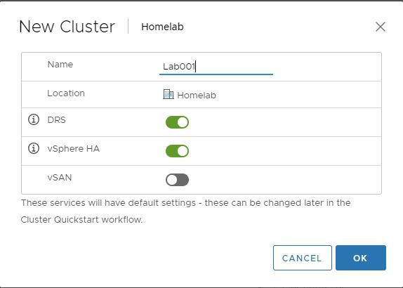 Homelab: Beginners Guide – Part 2 Installing Virtual Center 6 7